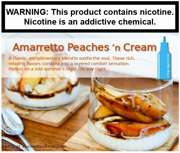 Amaretto Peaches 'n Cream