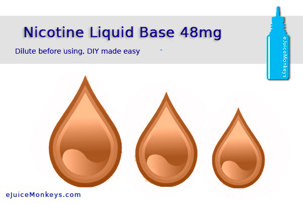 Liquid Nicotine PG 48mg