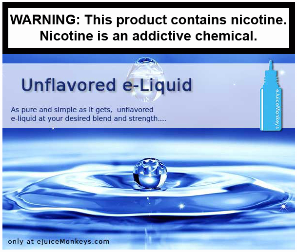 A Simple Unflavored eJuice