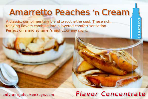 Amaretto Peaches 'n Cream FLAVOR