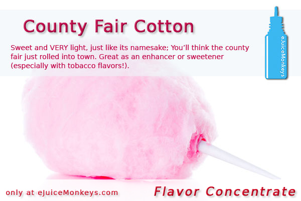 County Fair Cotton FLAVOR