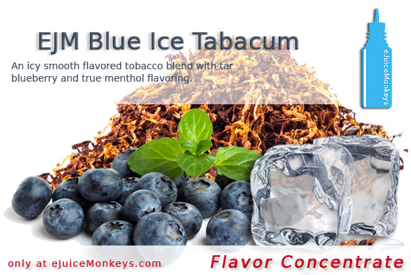 EJM Blue Ice Tabacum FLAVOR
