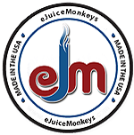eJuiceMonkeys Logo Seal