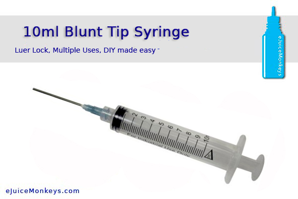 10 ml Syringe Blunt Bevel Tip