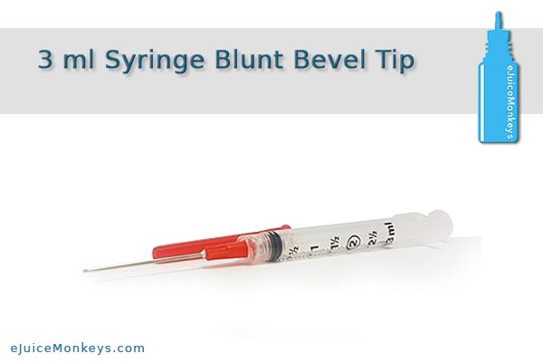 3 ml Syringe Blunt Bevel Tip