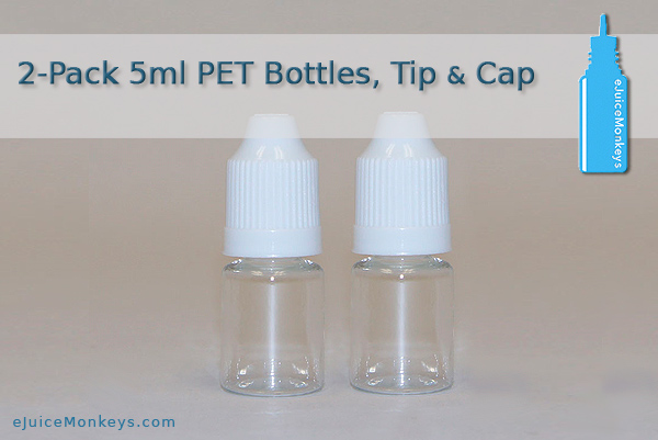 5ml Empty Bottle - 2 Pack