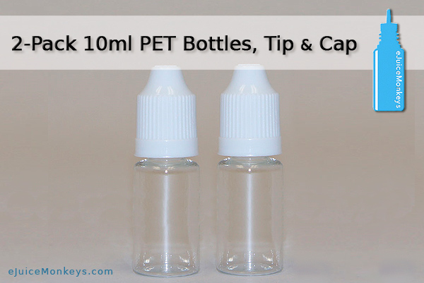 10ml Empty Bottle - 2 Pack