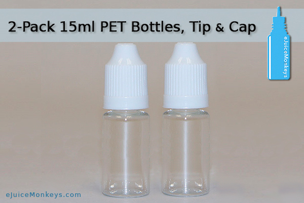 15ml Empty Bottle - 2 Pack