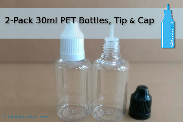 30ml Empty Bottle - 2 Pack