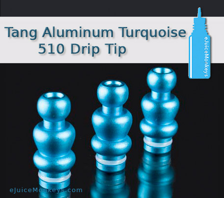 Drip Tip 510 - Tang Aluminum Turquoise