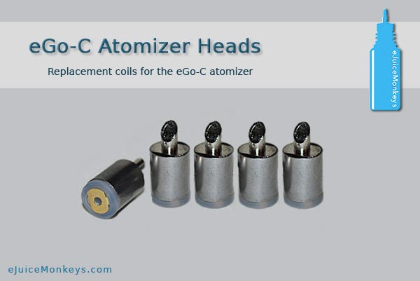eGo-C Style Atomizer Heads - Click Image to Close