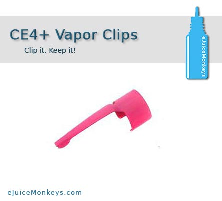 CE4 Vapor Clip - Pink - Click Image to Close