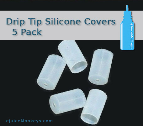 Drip Tip Silicone Covers - 5 Pack