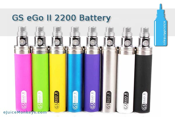 GS eGo II 2200mAh Battery - Purple