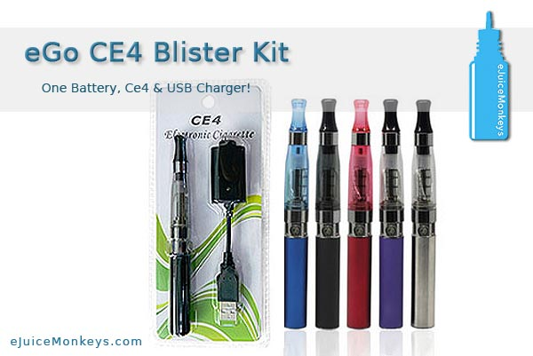 eGo 650 CE4 Blister Pack - Blue