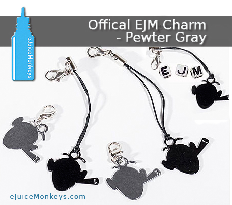 Offical EJM Charm - Pewter Gray