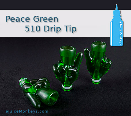 Drip Tip 510 Peace Green