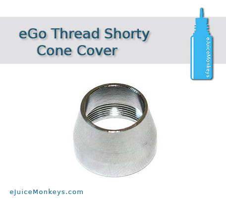 eGo Thread Shorty Cone Cover